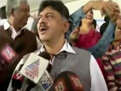 Karnataka Minister D K Shivakumar In Yet Another Selfie Row