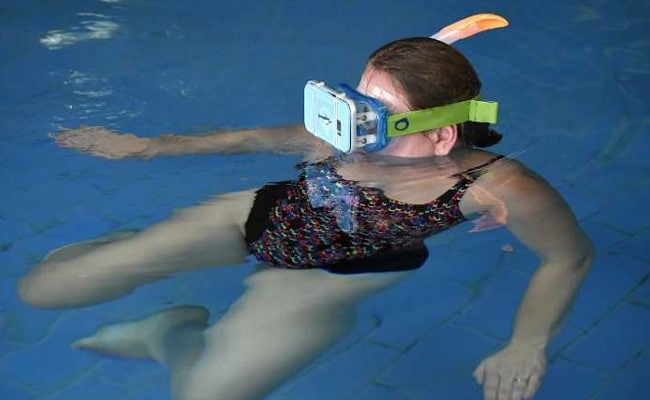 Swimming With Dolphins In Virtual Reality To Aid People With Special Needs