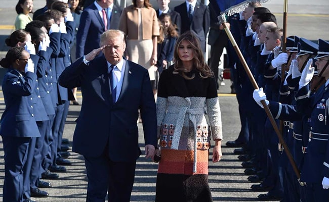 Melania Shuns Cameras As Second Woman Alleges Trump Affair