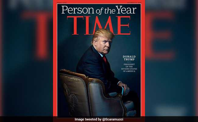 'I Took A Pass', Says Trump At Being Named Time's 'Person Of The Year'