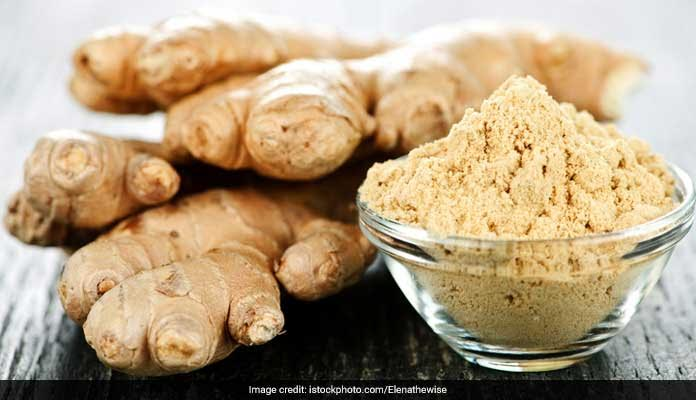 dry ginger is a rich antioxidant