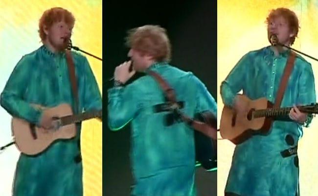 ed sheeran india concert ndtv