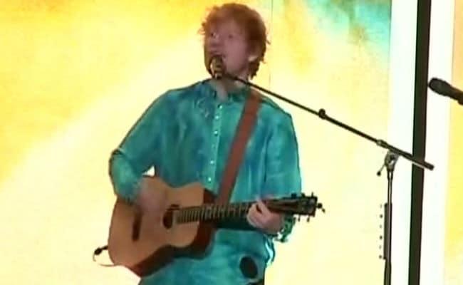 Ed Sheeran Mumbai India Highlights: Ed Sheeran Ends With A Bang