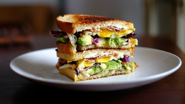 egg sandwich breakfast recipes