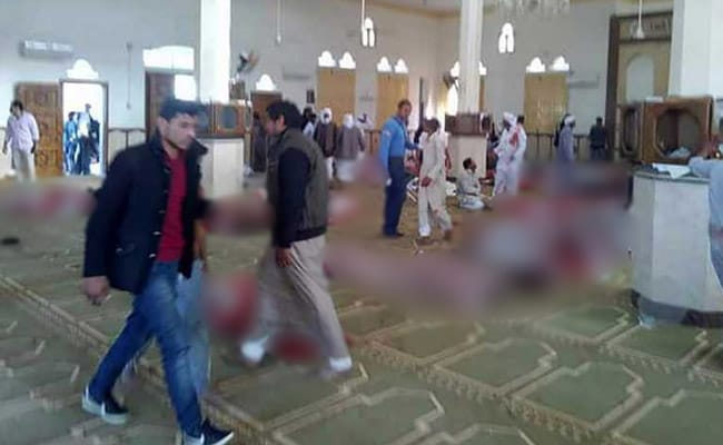 egypt mosque attack afp