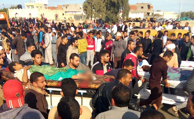 In Egypt's Deadliest Attack, 305 Killed At Mosque In ISIS Hotbed