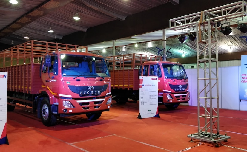 The new Eicher truck variants are being offered in the Light and Medium Duty segment
