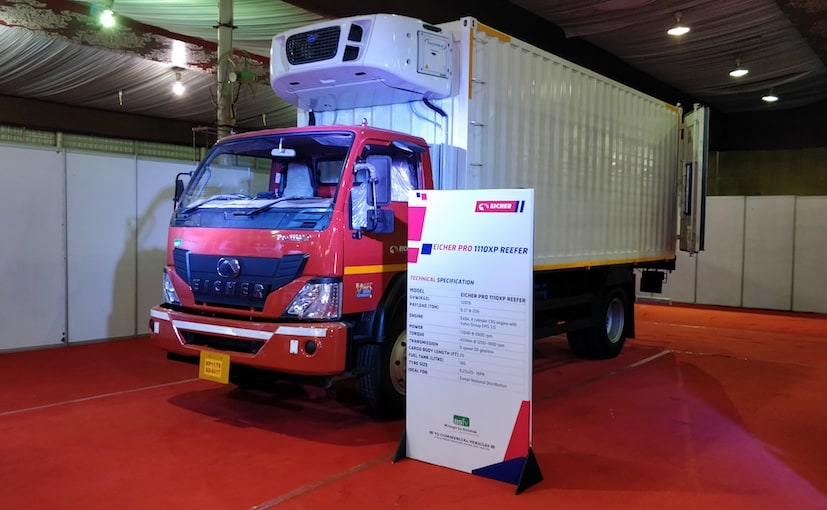 eicher pro series trucks e commerce