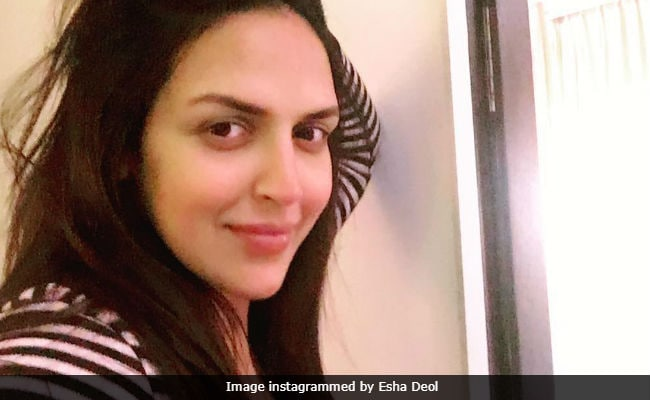 Esha Deol Shares First Selfie In 'Mommy Mode' On Her Birthday