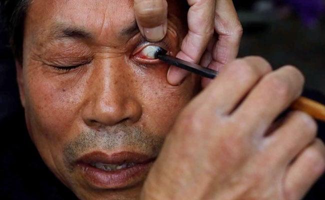 eyelid shave reuters