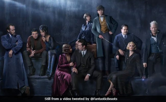 Fantastic Beasts And The Crimes Of Grindelwald First Look: Jude Law As Young Dumbledore