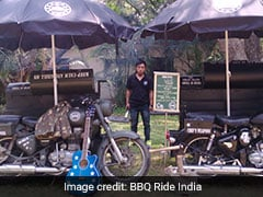 Delhi Food Truck Festival Makes Way For Country's First BBQ Bike Company!
