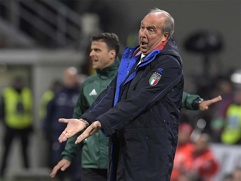 Gian Piero Ventura Sacked After Italy Fail To Qualify For 2018 World Cup