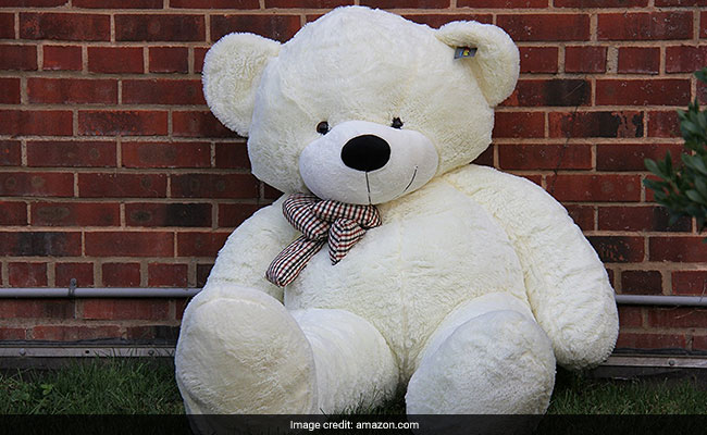 This Giant Teddy Bear Is Going Viral For A Very Strange Yet Funny Reason