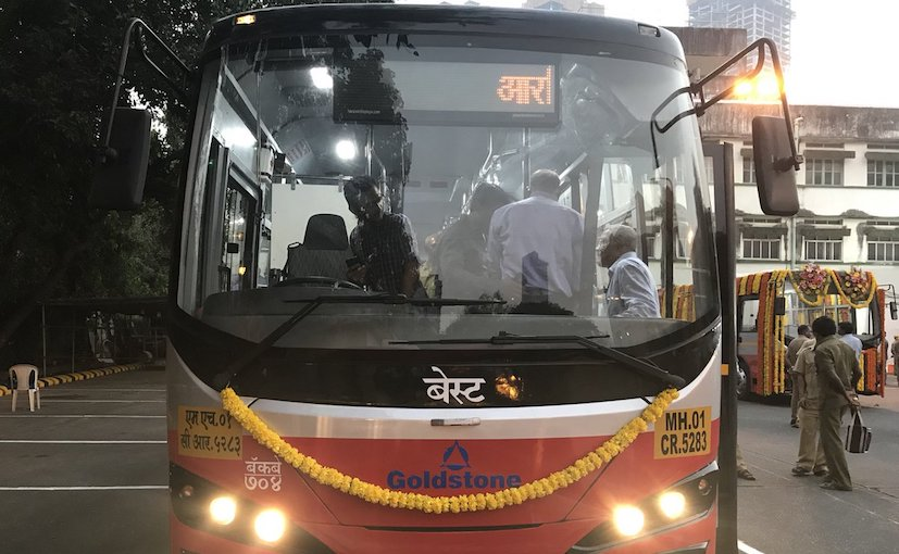 Electric buses return to Mumbai streets after 45 years""