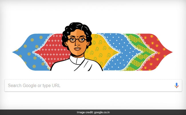 Google Doodle Celebrates Anasuya Sarabhai's 132nd Birth Anniversary