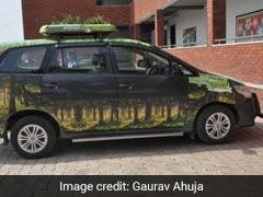 As Delhi Chokes, This Duo Wants To Turn 'Gaddis' Into Portable Air Purifiers