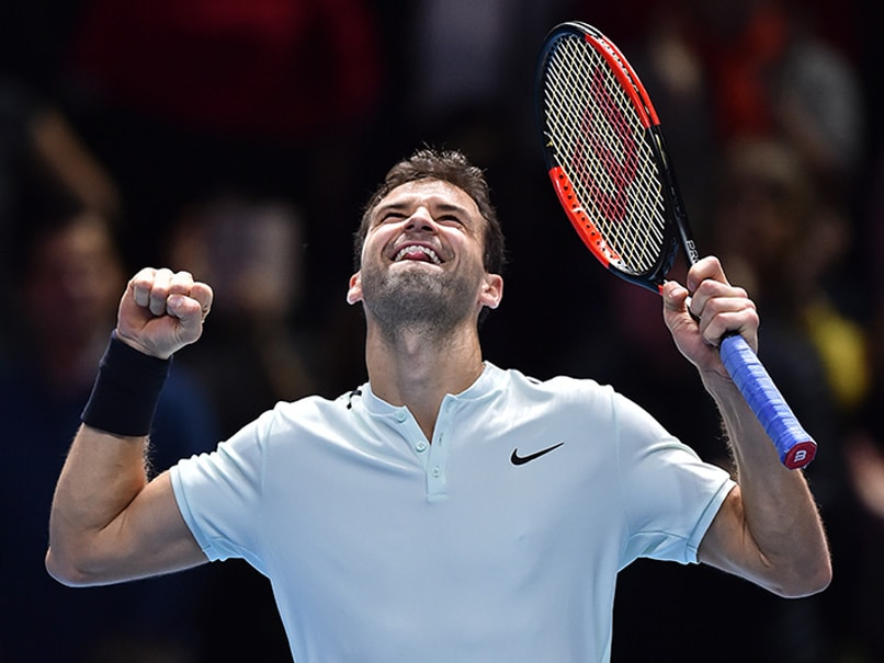 ATP Finals: Grigor Dimitrov Storms Into Last Four