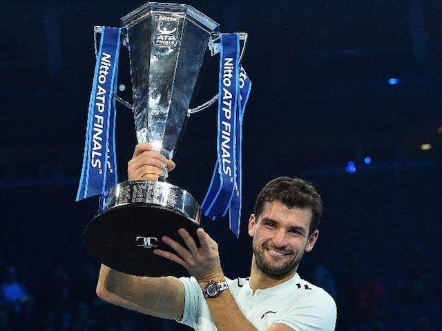 ATP World Tour Finals: Grigor Dimitrov Beats David Goffin To Clinch Title