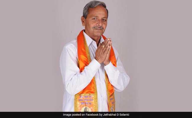 गुजरात : बीजेपी को जोरदार झटका, विधायक जेठा सोलंकी ने पार्टी से नाता तोड़ा