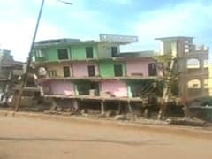 Like A Pack Of Cards: Empty Building Collapses In Andhra Pradesh. Watch