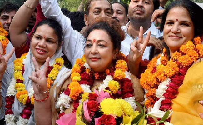 Madhu Azad Becomes Gurgaon's First Woman Mayor, Elected Unopposed