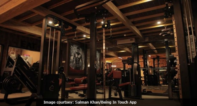 gym salman being in touch