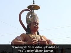 """""""Very Unfortunate"""": Court On Hanuman Statue On Public Land In Delhi"""