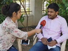 Can't Meet Rahul Gandhi, Can Only Send Best Wishes To Him: Hardik Patel