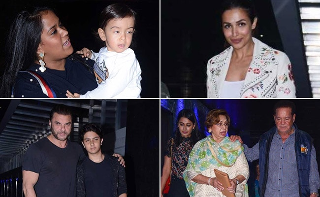 Inside Helen's 79th Birthday Party With Malaika Arora And Khan-Daan
