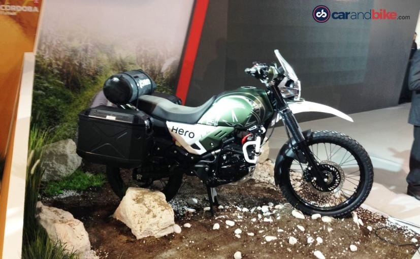 The Hero XPulse adventure concept was first showcased at the EICMA 2017 show