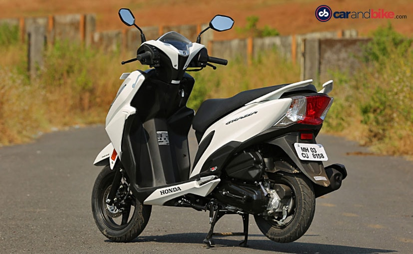 honda grazia review
