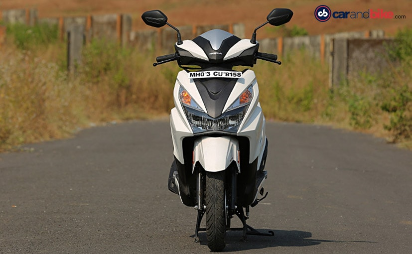 honda grazia first ride review ndtv carandbike