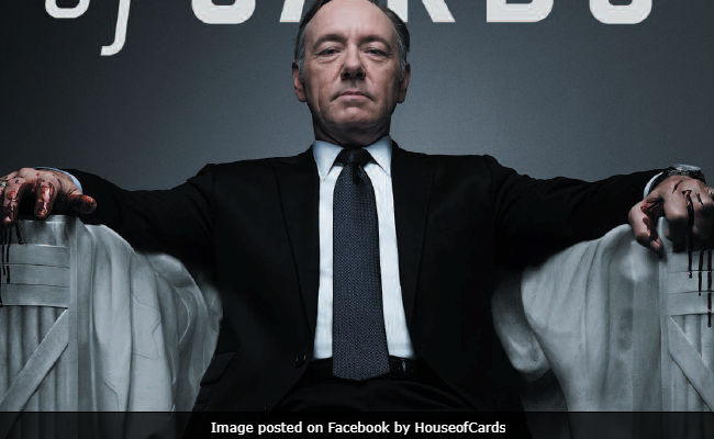 Kevin Spacey was working on line of 'House of Cards' merchandise