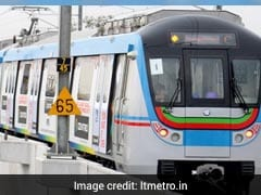 On Opening Day, Over 2 Lakh Passengers Travel By Hyderabad Metro
