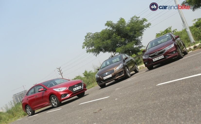 The Hyundai Verna is more powerful compared to both the Maruti Suzuki Ciaz and Honda City