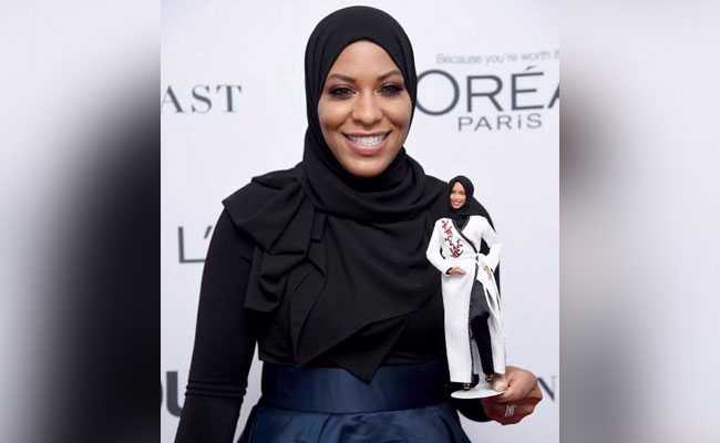 ibtihaj muhammad hijab wearing barbie afp