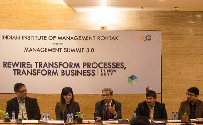 GST Takes Centre Stage At IIM Rohtak's Mumbai Management Summit