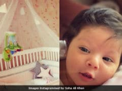 This Is What Soha Ali Khan's Daughter Inaaya Naumi's Nursery Looks Like