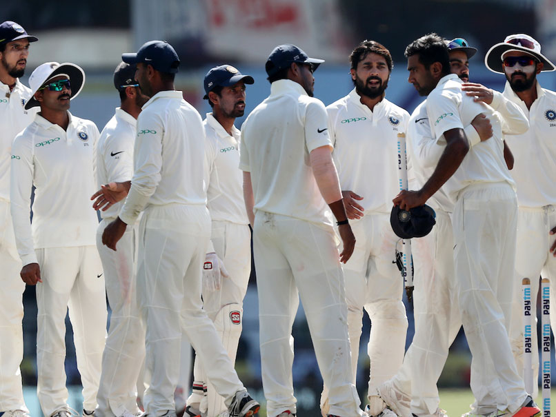 India declare at 610/6, take 405 run lead against Sri lanka