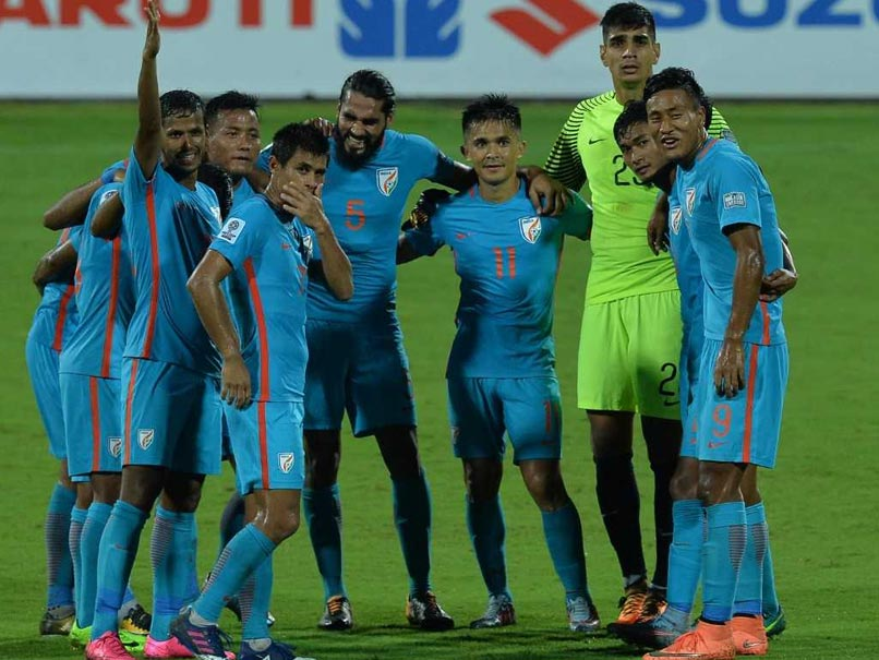 India Climb Three Spots To Re-Enter Top-100 In FIFA Rankings