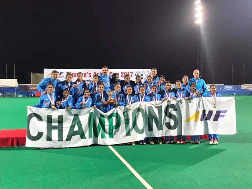 Asia Cup Hockey Winning Indian Women's Team Members To Get Rs 1 Lakh Each