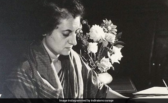 Rare Pictures From Indira Gandhi's Life On Display At New Show