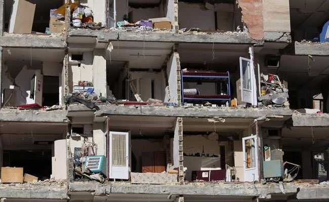 Number Of Dead From Iran Earthquake Rises To 530, More Than 8,000 Injured