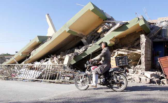 Number Of Dead Rises Above 450 After Earthquake Strikes Iran And Iraq