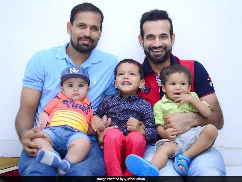 Children's Day: Irfan And Yusuf Pathan Post Adorable Pictures With Their Sons