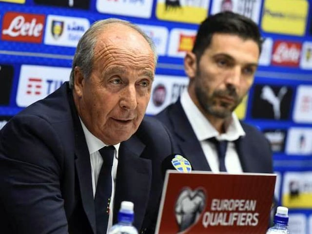 "FIFA World Cup: Italy Coach Gian Piero Ventura Boldly Claims ""Well Qualify"""