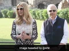 Ivanka Trump Visits Hyderabad's Golconda Fort On Day 2 Of Visit