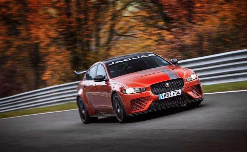 Jaguar XE SV Project 8 breaks Nurburgring four-door vehicle record