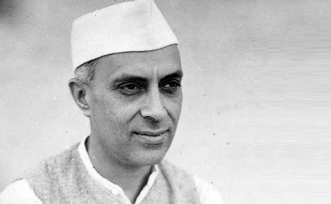 jawahar lal nehru file photo
